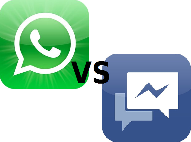 WhatsApp vs. Facebook Messenger