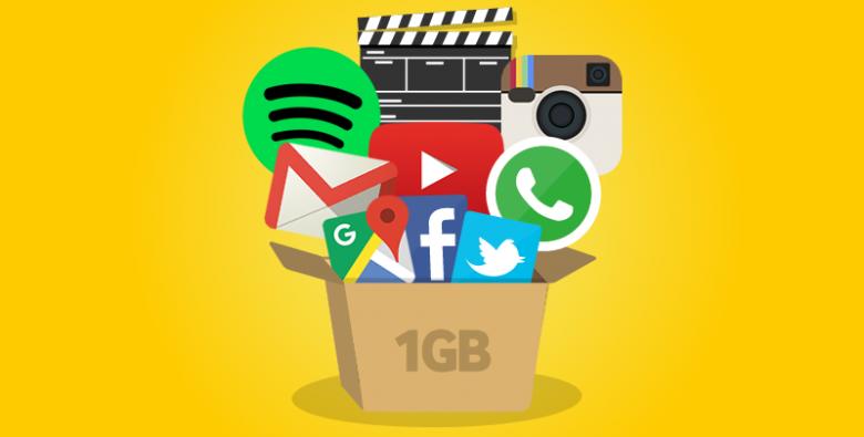 ¿Qué puedes hacer con 1GB?