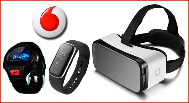 Un reloj inteligente, una pulsera cuantificadora y unas gafas de realidad virtual son los primeros wearables de marca blanca de Vodafone.